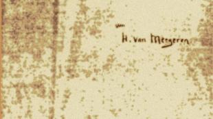Dem geliebten Führer in dankbarer Anerkennung gewidmet von Han van Meegeren Laren (Noord Holland) 1942