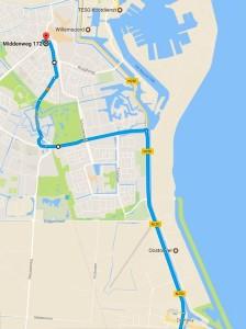 Route naar Rob Scholte Museum