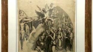 Albrecht Dürer - 5 Virgin Mary in Adoration of the Trinity