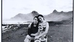 Nico Koster – Rob Scholte met zijn vriendin Cristina in Punta del Hidalgo op Tenerife