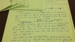 Manuscript van 'Gimmick!' 2
