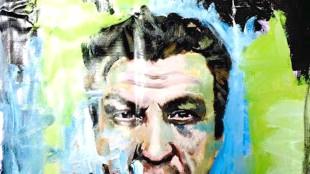 Peter Klashorst - Portret van Rob Scholte