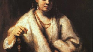 Rembrandt - Portret van Hendrickje Stoffels