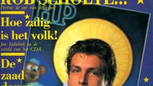 Rob Scholte op cover van HP