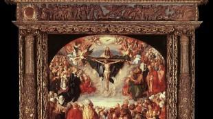 Albrecht Dürer - 1 Adoration of the Trinity (Landauer Altar)