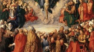 Albrecht Dürer - 2 Adoration of the Trinity