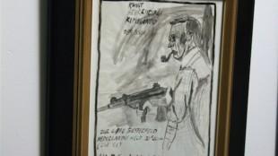 Bart Domburg (Kunst Bevrijdings Kommando Den Bosch) - Zur Lippe Biesterfeld Nederlandse held 20e eeuw (lid S.S.)