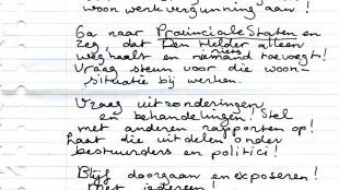 Brief aan Familie Scholte (2)