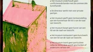 Christian Braun - Museum Overholland (2) / Vuistregels voor musea (dagelijks gebruik)