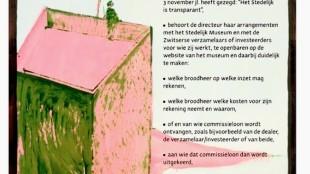 Christian Braun - Museum Overholland (3b) / Transparantie: een museumstuk (de directeur)