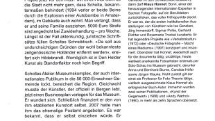Dorothee Baer-Bogenschütz - Informationsdienst Kunst 2