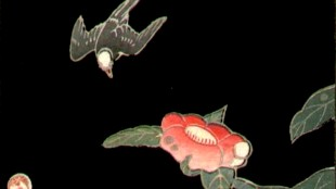 Ito Jakuchu - Swallow and Camellia