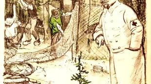 Jan Sluijters - De Veluwe afgerasterd voor de prinselijke jacht