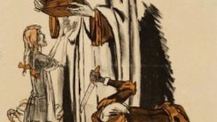 Jan Sluijters - Het medelijden der Westersche Beschaving Alleen zoete kinderen krijgen lekkers 5 december 1919