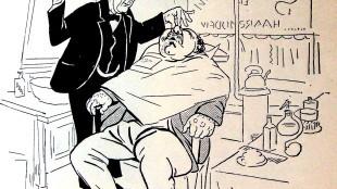 Jan Sluijters - Levende beelden, schetsen uit de hoofdstad, S. Abramsz 1909