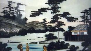 Japanse glasschildering 2