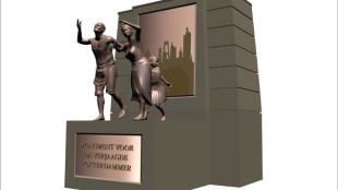 Jonas Staal - Monument voort de verjaagde Rotterdammer (in opdracht voor Leefbaar Rotterdam)