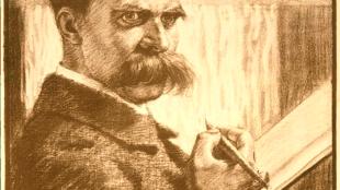 Karl Bauer - Friedrich Nietzsche Der Unzeitgemäße (Foto Klassik Stiftung Weimar)