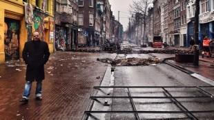 Klashorst in de Spuistraat (foto Priscilla Tienkamp)