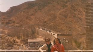 Knippenberg op de Chinese muur