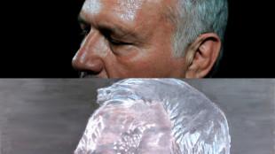 Luc Tuymans gebruikte een door Katrijn van Giel gemaakte foto van politicus Jean-Marie Dedecker als voorbeeld voor zijn doek A Belgian politician