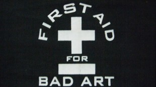 Peter Gersina - First aid for bad art