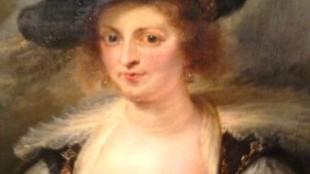Peter Paul Rubens - Portrait of Hélène Fourmen (foto Gulbenkian Museum)