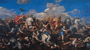 Pietro da Cortona - Battle of Alexander versus Darius