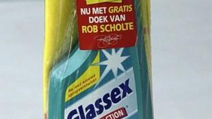 Rob Scholte - Glassex Nu met gratis doek recto