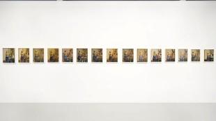Rob Scholte - Melkmeisjes (bij Galerie Mehdi Chouakri in Berlijn)