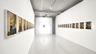 Rob Scholte - Melkmeisjes en Dorus Rijkers (bij Galerie Mehdi Chouakri in Berlijn)