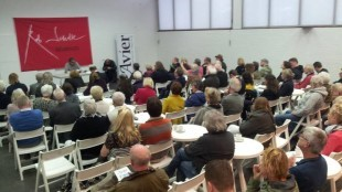 Rob Scholte Museum tijdens presentatie businessplan