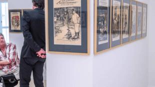Rob Scholte in gesprek met Ralph Keuning van Museum De Fundatie