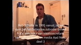 Rob Scholte over NL subsidiebeleiddeel 3 UNCUT