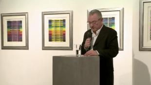 Rob van Gerven opent tentoonstelling van Scholte bij KUUB in Utrecht