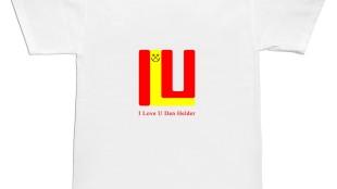 Volker Hildebrandt - I love U Den Helder t-shirt