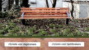 Carine Weve - Zitplaats voor... (locatie Noordereiland, Rotterdam)