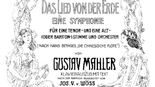 Gustav Mahler - Das Trinklied Vom Jammer Der Erde