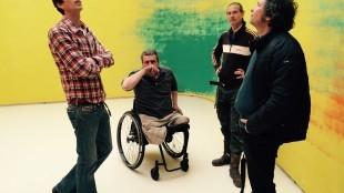 Guus Perisutti - Rob Scholte op de Nollen met Ruud, Gijs en Paul Jan van de Wint (2)