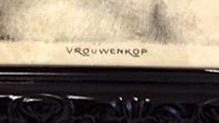 Jan-Sluijters - Vrouwenkop (detail)