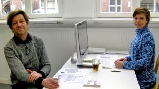 Jan van der Ploeg en Cindy Moorman in PS Projectspace