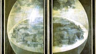 Jeroen Bosch - Tuin der Lusten (het drieluik in gesloten toestand)