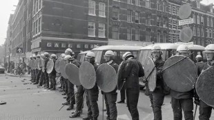 Politieoptreden bij Tetterode