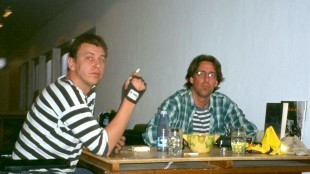 Rob Scholte en Joost Zwagerman in La Perla op Tenerife