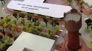 Woningstichting Den Helder - Aan een nieuw stationsplein wordt gewerkt