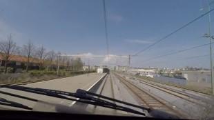 Aankomst station Den Helder vanuit Alkmaar