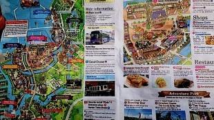 Bezoekersfolder Huis Ten Bosch Japan