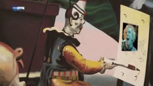 De Schreeuw van Rob Scholte met als insert Johnny Rotten/Lyndon, zanger van de Sex Pistols