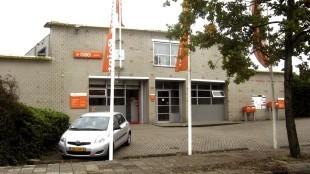 Een nog niet verkocht pand van PostNL in Waddinxveen