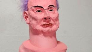 Eveline van Duyl - Portret van René Gude (2) (detail)
